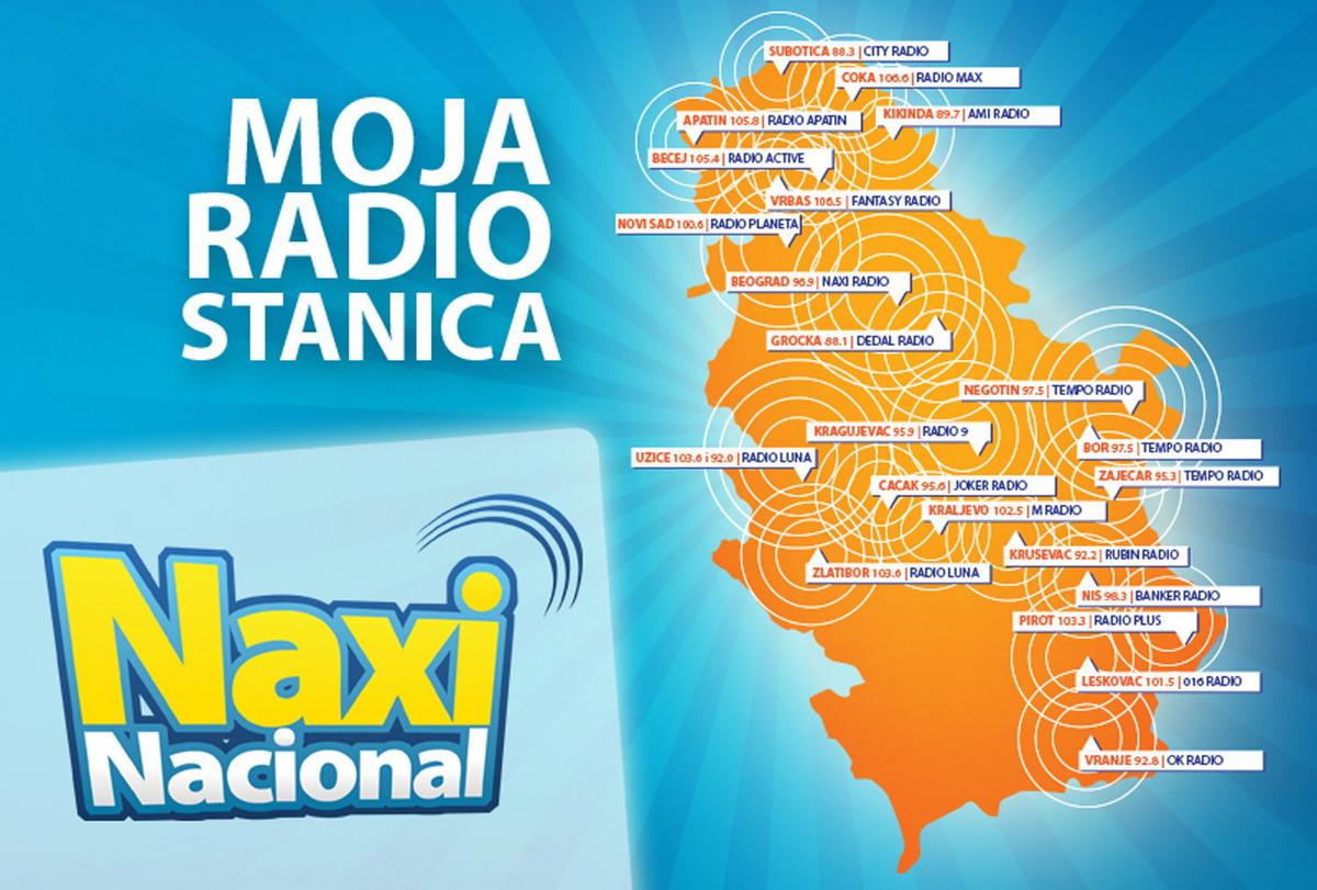 Naxi Radio Pokrivenost